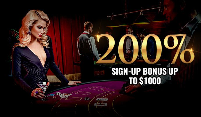 Join NOW and Get 200% Sign Up Bonus.